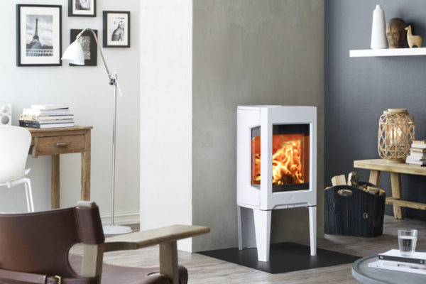 Jotul F 163 interier, bílý smalt